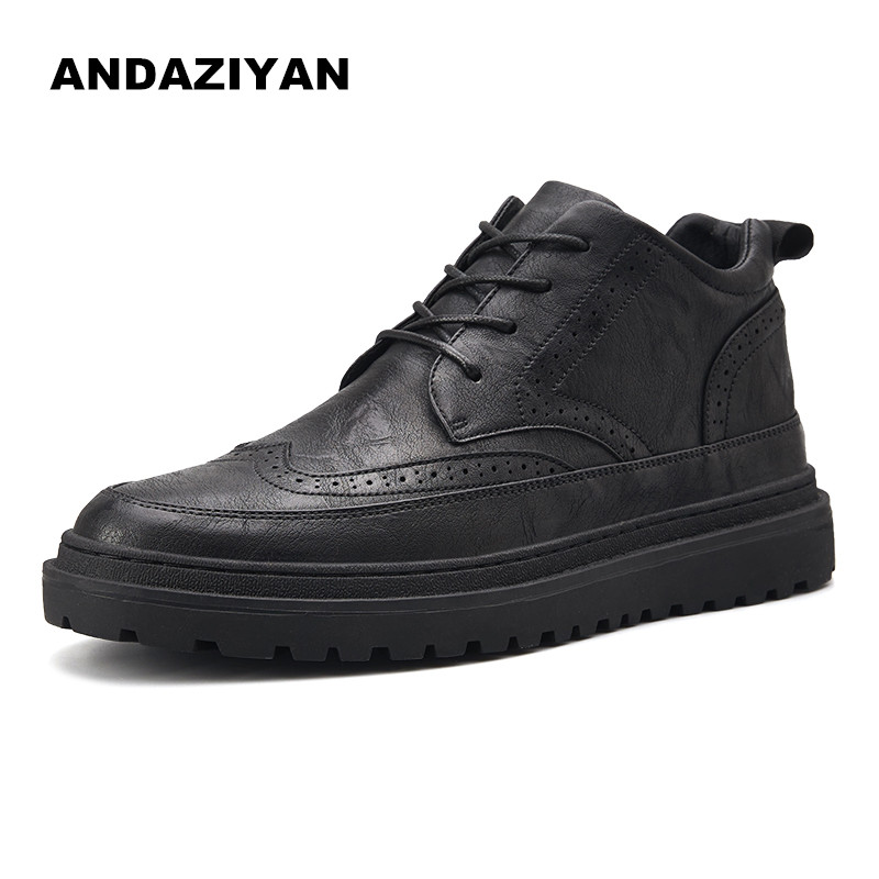 2019 new spring Brock carved business casual shoes men in Men 39 s Casual Shoes from Shoes