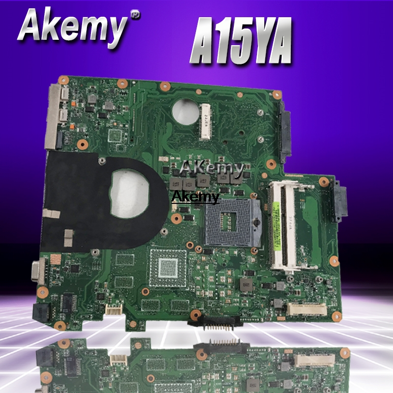 A15AY For ASUS A15 A15AY Laptop Motherboard A15YA Mainboard Rev2.1Tested Motherboard 100% Work