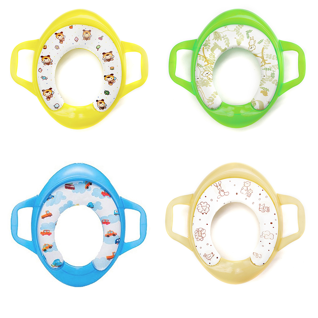 Baby Travel Folding Potty Seat toddler portable Toilet Training seat children urinal cus ...