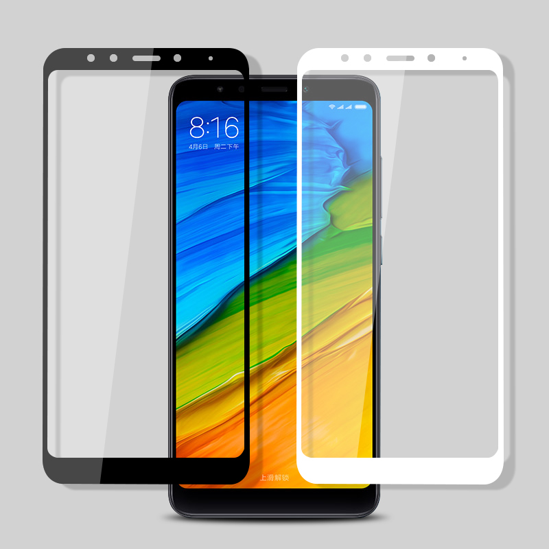 GonoRack 6D Full Cover Screen Protector For Xiaomi Redmi 4X 4 Pro Tempered Glass For Redmi Note 4X 5A 5 Plus Global Version