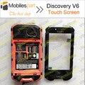 Discovery V6 Сенсорный Экран 100% Оригинальный Замена Панели Дигитайзер Сенсорный Экран Для Discovery V6 Смартфон Бесплатная Доставка