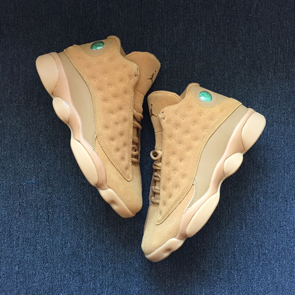 aea4cd5400b583 Jordan 13 XIII Men Basketball Shoes wheat Chicago HYPER ROYAL Athletic  Outdoor Sport Sneakers EUR41 47 -in Basketball Shoes from Sports    Entertainment on ...