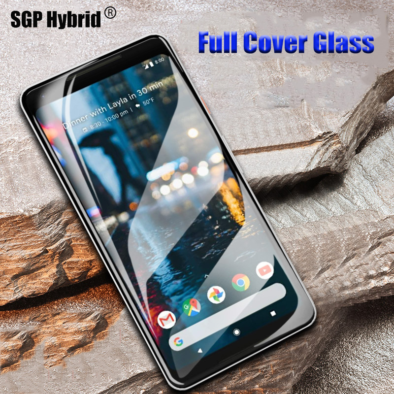 online store 57e30 a7e2b Full Protective Glass For Google Pixel 2XL Case For Google Pixel 2 XL 3 2XL  Pixel2 Pixel3 Tempered Glass Cover 9H Protector Film