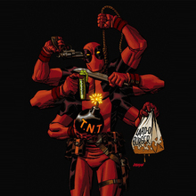 5D diy Diamond Painting Marvel Super Heroes - Deadpool Cross Stitch Full Square diamond embroidery pattern beaded H54