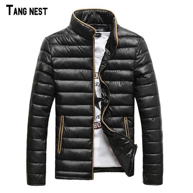 Men's Coat 2017 New Arrival Thick Korean Style Slim Men's Coat Casual Fashion Winter Wear Stand Collar Coat MWM819