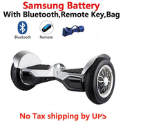 Samsung battery SUV Overboard 10 inch Electric Scooter Big Tire Self Balance Electric Hoverboard Unicycle Stand Up Hover board