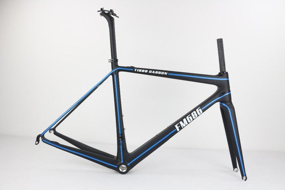 SERAPH Painting Bike Frame T1000 Carbon Fiber Super Light Frame Fork Seatpost Full Carbon Bike Frame Ultralight