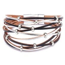 957402e60d90 Promoción de Leather Bracelet for Couples - Compra Leather Bracelet ...