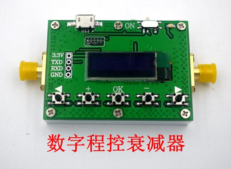 Atténuateur Programmable numérique 6G 30DB Stepper 0.25DB OLED CNC Module RF - 2