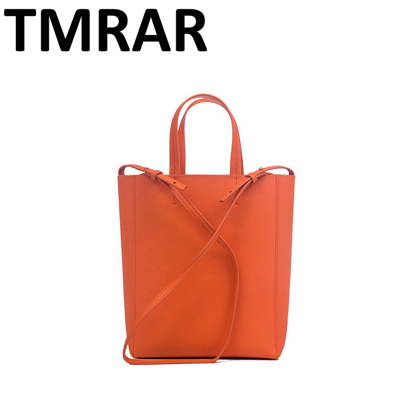 2018 New popular simple bucket tote split leather handbags chic lady main new modern classic brand design shoulder bags qn009 2018 new classic bucket messenger bags popular tote lady split leather handbags women chains shoulder bags bolsas qn250