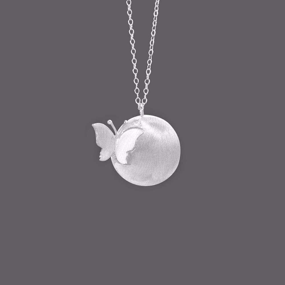 Новые дизайнерские серебряные ожерелья чокер с бабочками для женщин и девочек, рождественский подарок, модные ювелирные изделия|sterling silver necklace|925 sterling silver necklacedesigner necklace | АлиЭкспресс