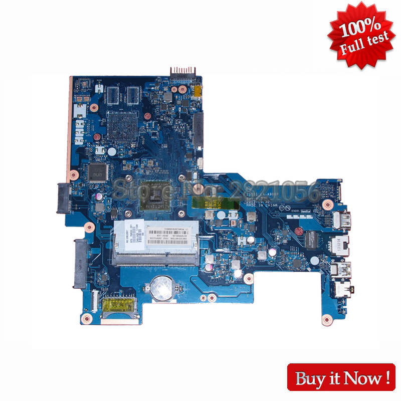 NOKOTION 750633-501 750633-001 Laptop Motherboard For HP 15-H 15-G Main Board ZS051 LA-A996P DDR3 CPU onboard nokotion 744189 001 745396 001 main board for hp 215 g1 laptop motherboard ddr3 with cpu zkt11 la a521p warranty 60 days
