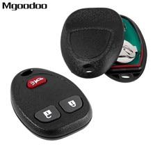 2Pcs Remote Key Shell Case 3 Button Keyless Entry Fob For Chevrolet HHR Uplander Pontiac Saturn Buick FCC: KOBGT04A 15777636