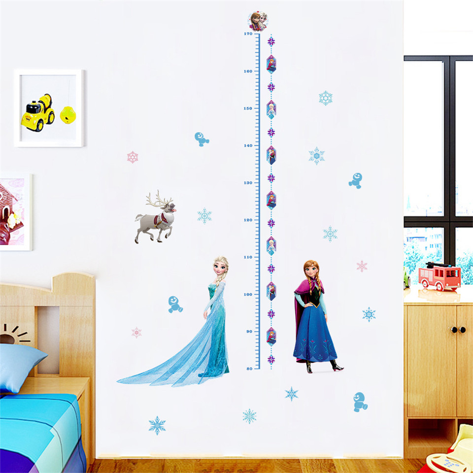 For, Stickers, Measure, Height, Mural, Wall