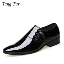 Men Classic Business Formal Shoes Pointed Toe Marriage Wedding Shoes For Man Fashion Elegant Oxfords Italian Style Flats