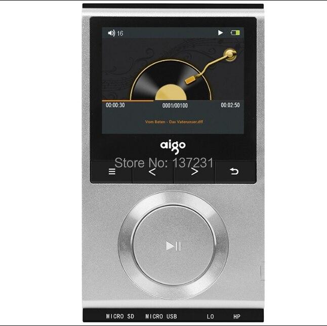 New Aigo EROS M5 HIFI DSD Audiophile Lossless Music Player MP3 1200mAh Lithium polymer battery wallet
