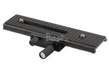 160mm Professional macro photography Focus Rail Slider tripod head Fine tuning head plate for D5300 D7100 600D 700D 60D 70D