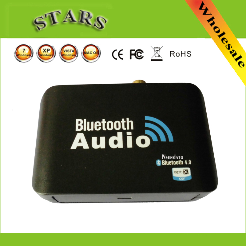 Bluetooth V4.0 USB Music Audio Aptx Receiver RCA Digital Stereo 3.5mm Bluetooth Audio A2DP Notebook Speakers Receiver