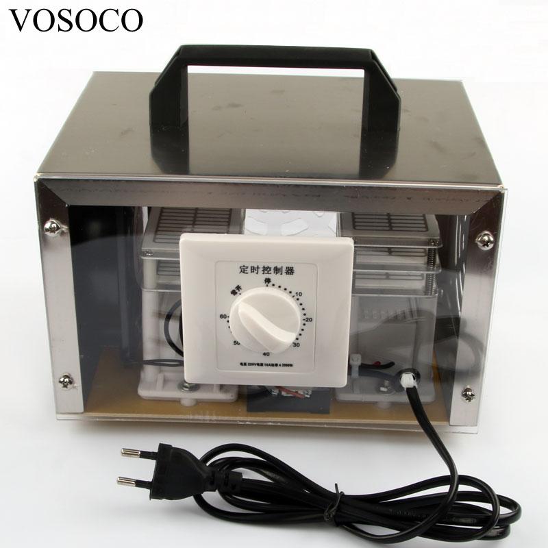 все цены на Ozone generator 30g/h ozonizer in addition to formaldehyde odor sterilization ozone generator air disinfection machine 220V 110V