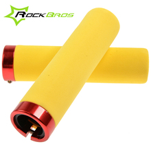 Clearance!RockBros Grips Bicycle MTB Bike Grips Cycling Bicycle Parts Handlebar Lock-on Grips Sponge/EVA Lockable Bar End rockbros bike grips mtb silicone sponge bike handlebar grips racing riding manopole mtb grips bicycle accessories