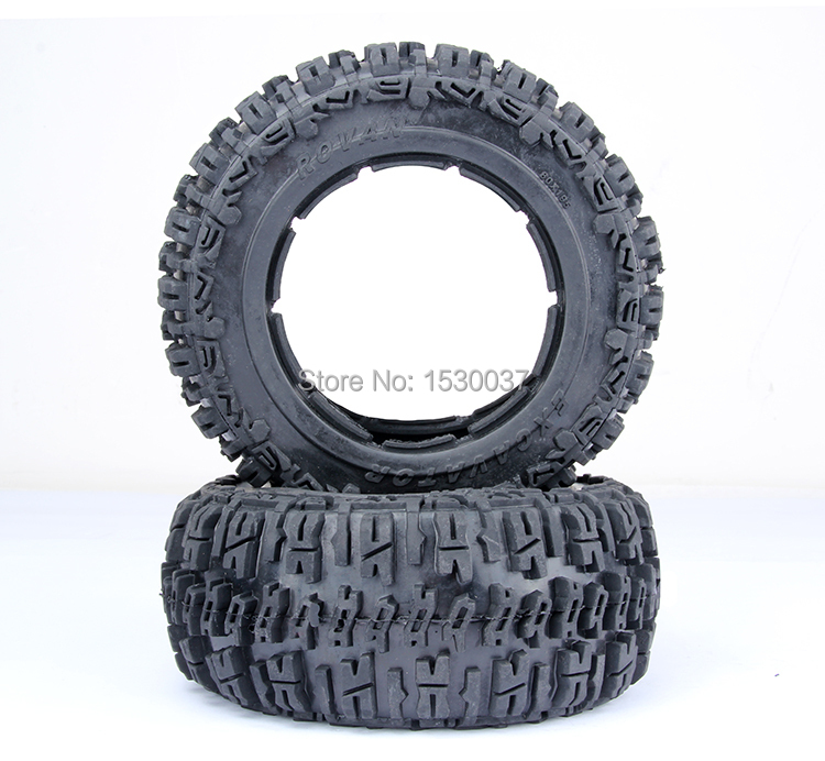 1/5 RC Car Racing parts,Baja 5T knobby Rear tire X 2pcs/set, free shipping baja front new  knobby tire set 85078