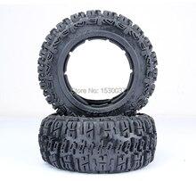 1/5 RC Car Racing parts,Baja 5T knobby Rear tire X 2pcs/set, free shipping