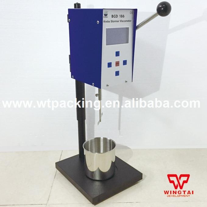 BGD186 Krebs Stormer Viscometer Lab Digital Viscosity Tester Meter digital viscometer ndj 1 viscometer paint viscosity tester rotary viscometer pointer viscometer