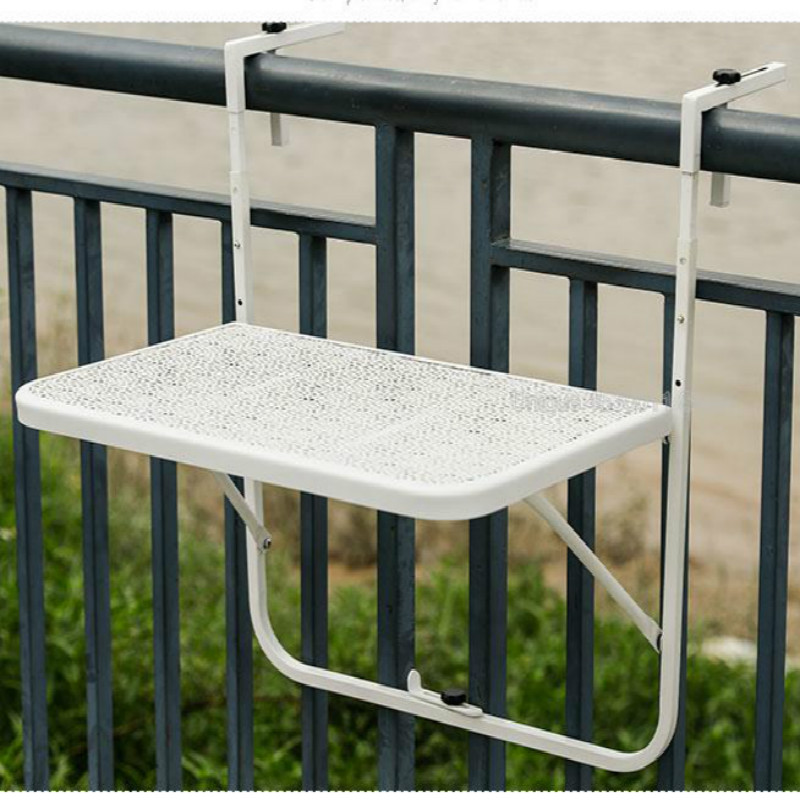 Fantastic Us 70 91 5 Off Balcony Hanging Table Railings Metal Wrought Iron Hanging Garden Table Folding Table European Simple Mini Wall Hanging Table In Theyellowbook Wood Chair Design Ideas Theyellowbookinfo