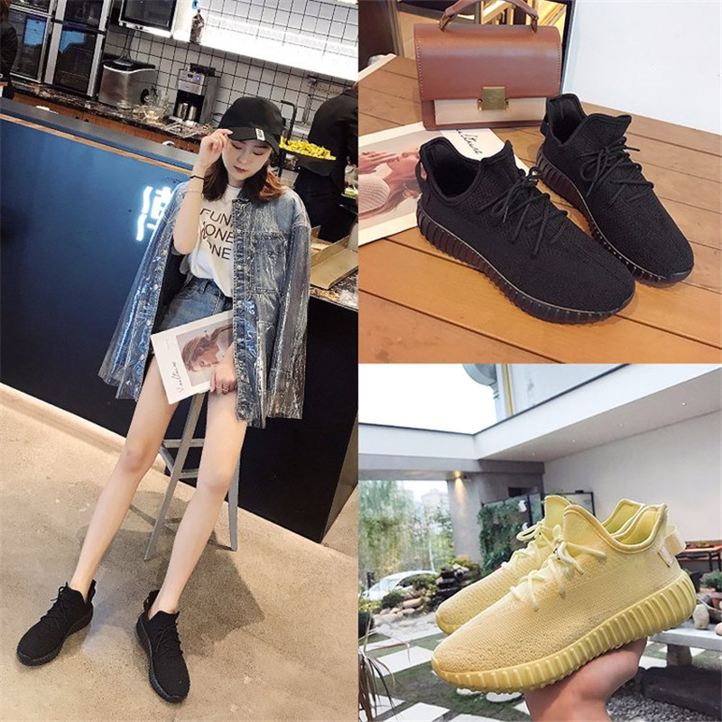 Breathable Casual Lovers Runing Shoes Stretch Sock Shoes Platform Elastic Sneakers Outdoor Women Shoes Tenis Feminino Size 42 43