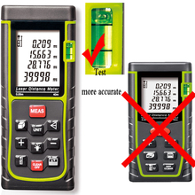 40 m laser rangefinder precision hand-held electronic device infrared laser measuring instrument Area/volume/Angle Tester tool