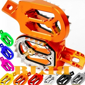 For Yamaha WR250R WR 250R 250 R 2008-2015 2014 2013 2012 Footrests Foot Stakes Footpegs Sharp Teeth CNC Dirt Bike Moto Race Part