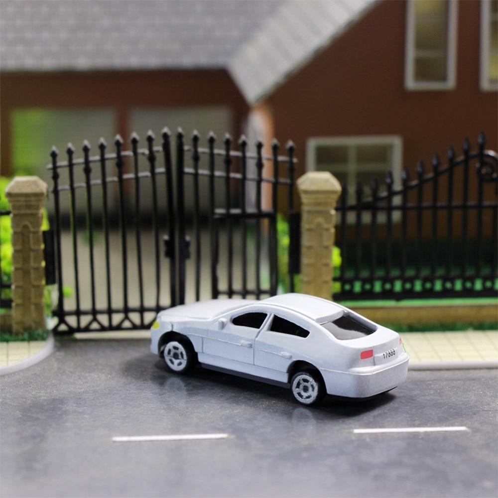 50 шт. модель автомобиля 1: 87 HO Масштаб здания поезд пейзаж C100
