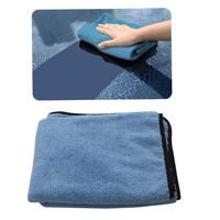 Large Microfiber Drying Towel Car Cleaning Cloths Cloth Auto Care 90x60cm Blue Car Wash Maintenance Kit