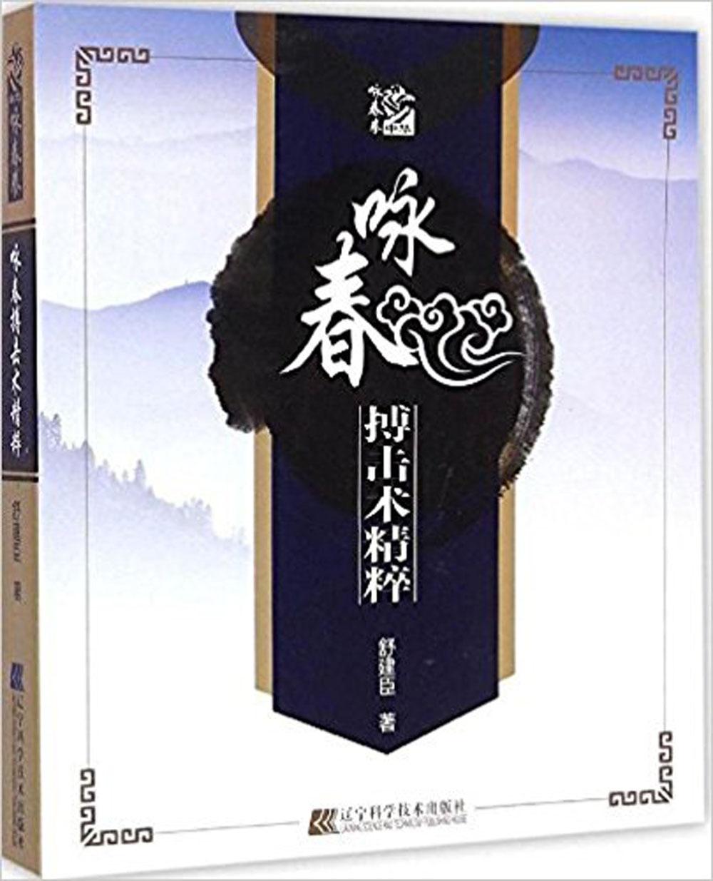 Chinese Wushu Kung Fu Book :Wing Chun Martial Art Essence Language Chinese