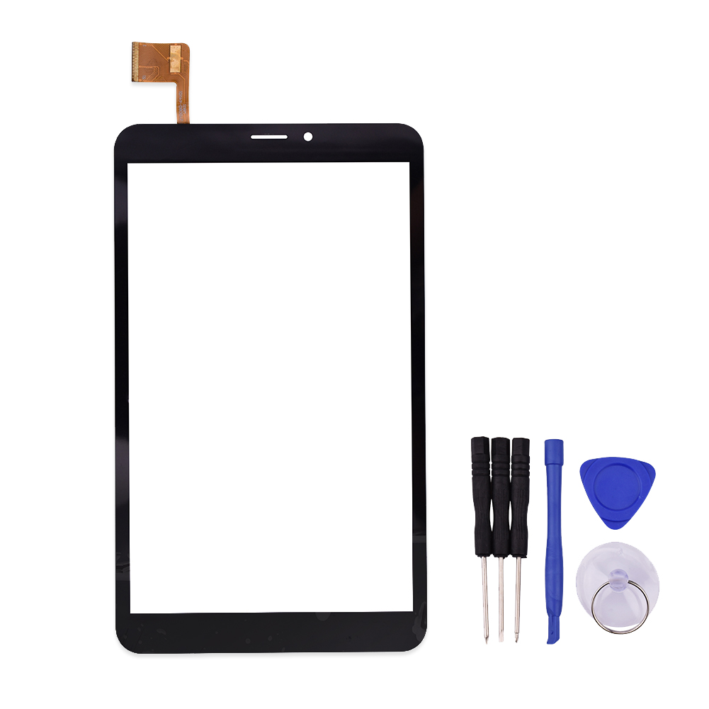 8 inch Touch Screen For  MultiPad wize 3408 4G Panel Digitizer MultiPad_WIZE_3408_4G Sensor Replacement new touch screen digitizer for 8 prestigio multipad wize 3508 4g 3408 tablet touch panel glass sensor replacement free ship