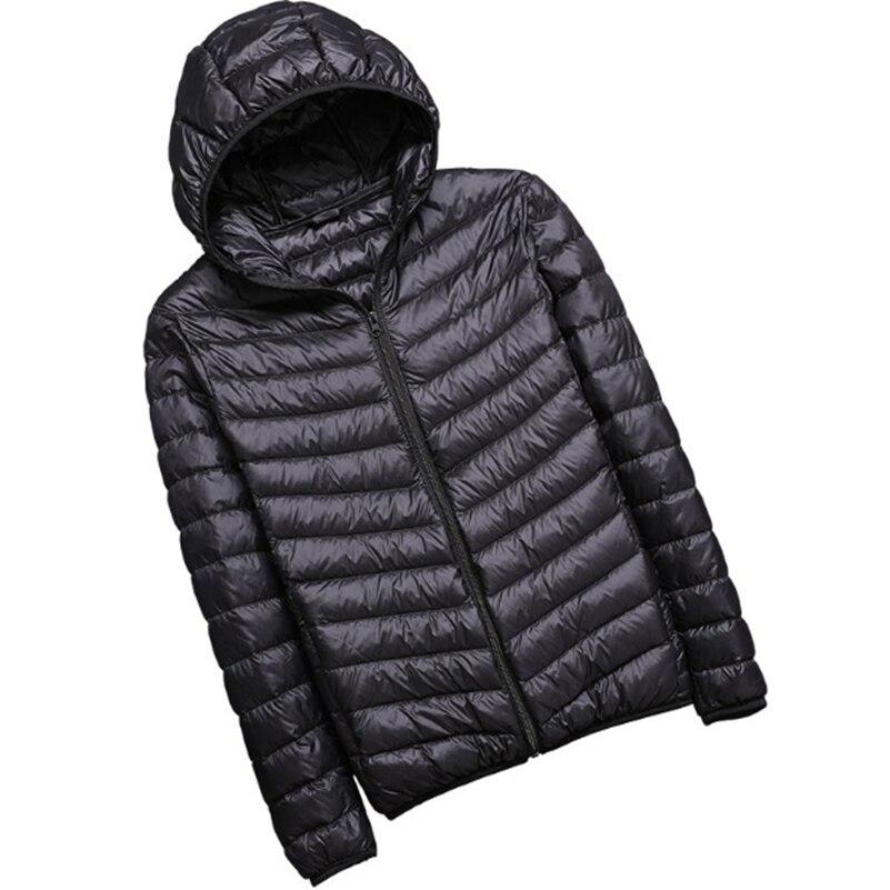 2018 Новая зимняя мужская мода спортивная вниз куртка с хлопковой подкладкой утолщение и теплый с капюшоном куртка с хлопковой подкладкой