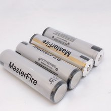 MasterFire 4pcs/lot Protected Original 18650 NCR18650BD 3.7V 3200mAh 10A discharge battery for Panasonic,electronic cigarettes