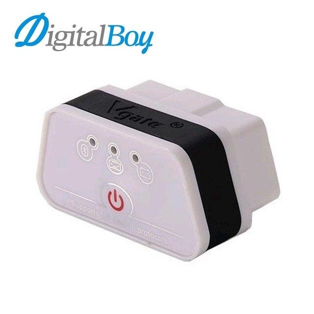 Digitalboy Высокое Качество ELM 327 Vgate iCar2 Bluetooth OBD2 ELM327 Bluetooth Диагностический Сканер Инструмент Интерфейс Код Сканер OBDII