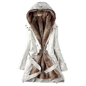 Women Winter Hooded Coat