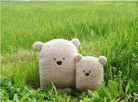 plush toy teddy bear plush toy plush pillow big face bear soft stuffed plush toy 6pcs/lot Chirstmas gift freeshipping