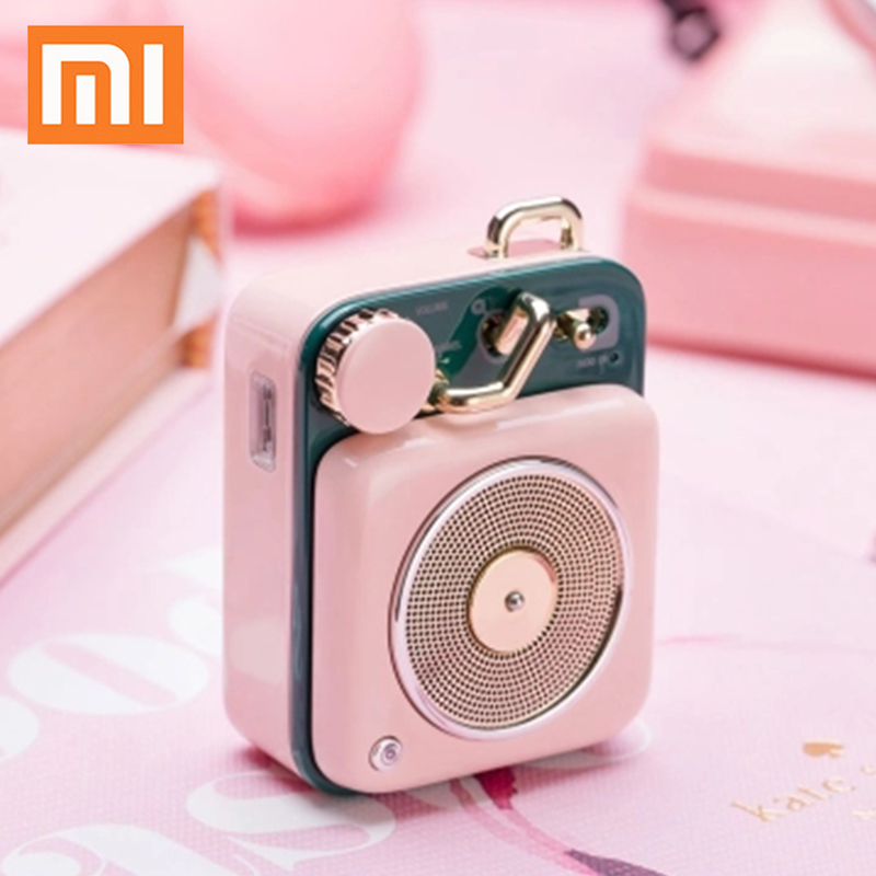 Smart Remote Control Smart Electronics Xiaomi Original Radio Cat King Fm Bluetooth Portable Speaker Wood Production 10hours Battery Life Music Player Birthday Gift Street Price