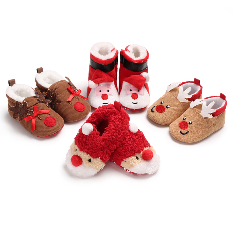 Cartoon Elephant Male Baby Casual Canvas Breathable Toddler Shoes Baby Shoes XR