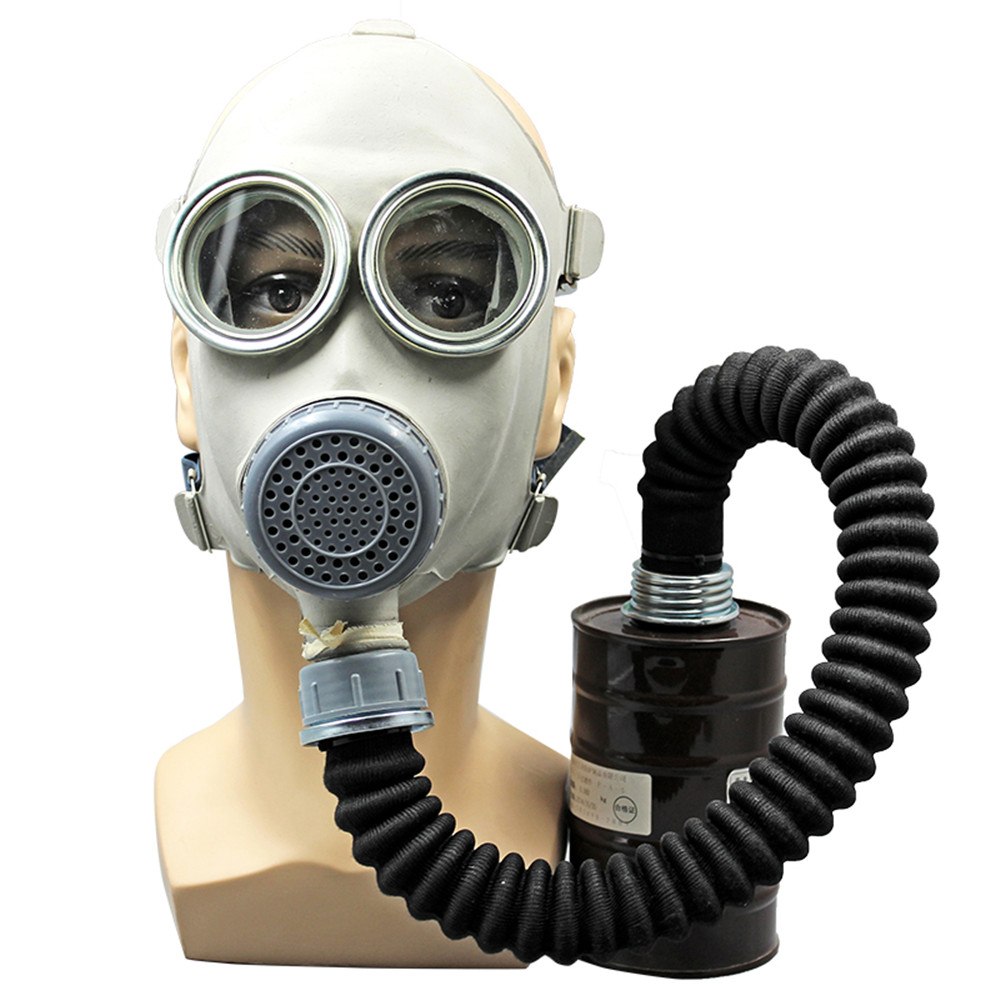 Organic Activated Charcoal Face Mask: Activated Carbon Gas Full Face Mask Respirator Anti Gas