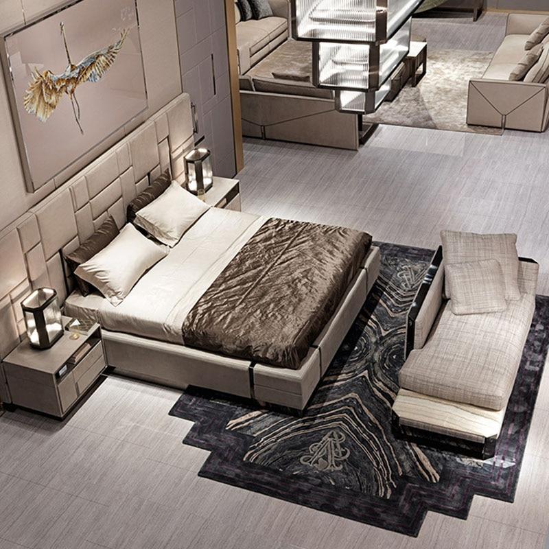 Magnificent Us 2899 0 Italian Latest Custom Bed Bedroom Furniture Modern Luxury Leather Bedroom Furniture Bedroom Set In Bedroom Sets From Furniture On Download Free Architecture Designs Meptaeticmadebymaigaardcom