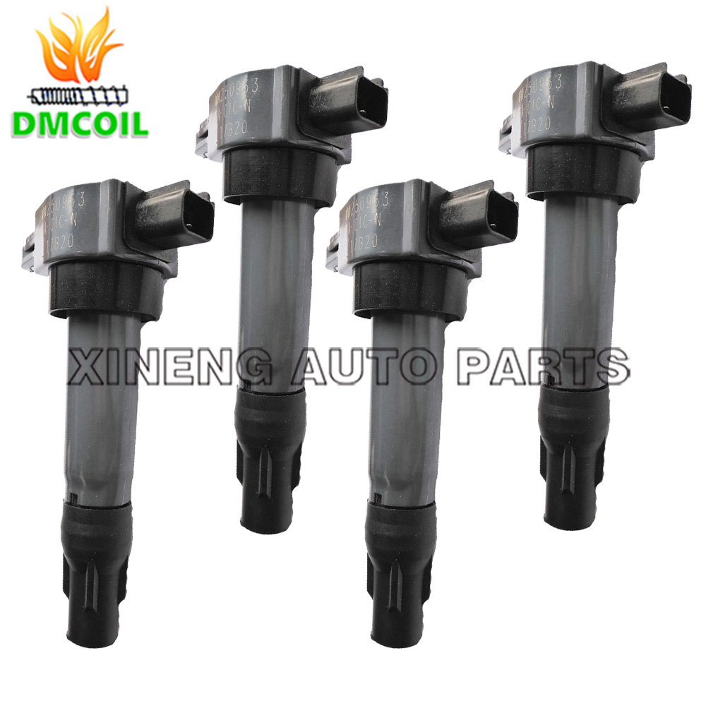 4 PCS ORIGINAL QUALITY IGNITION COIL FOR JAC BRILLANCE DONGFENG HAIMA 4A9 4A90S 4A91S 4A92 V3