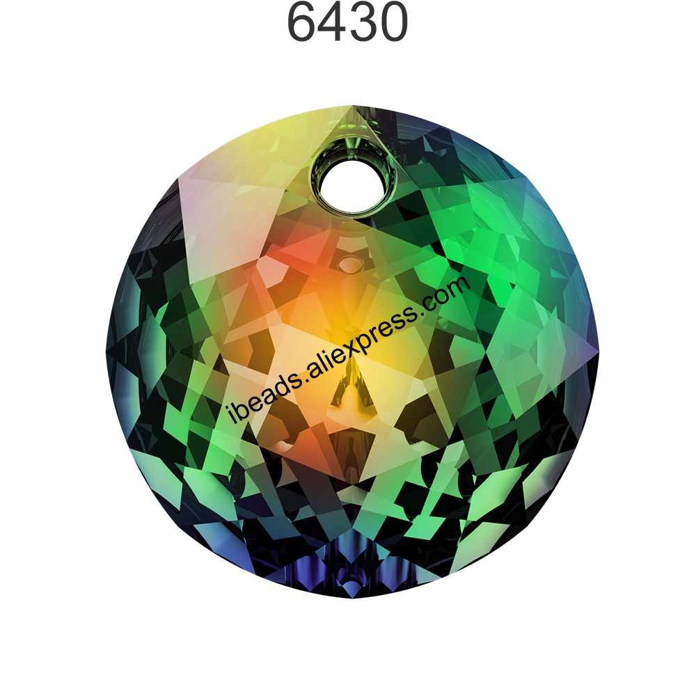 NEW (1 piece) 100% Original Crystal from Swarovski 6430 Classic Cut Pendant made in Austria loose beads for DIY Jewelry making