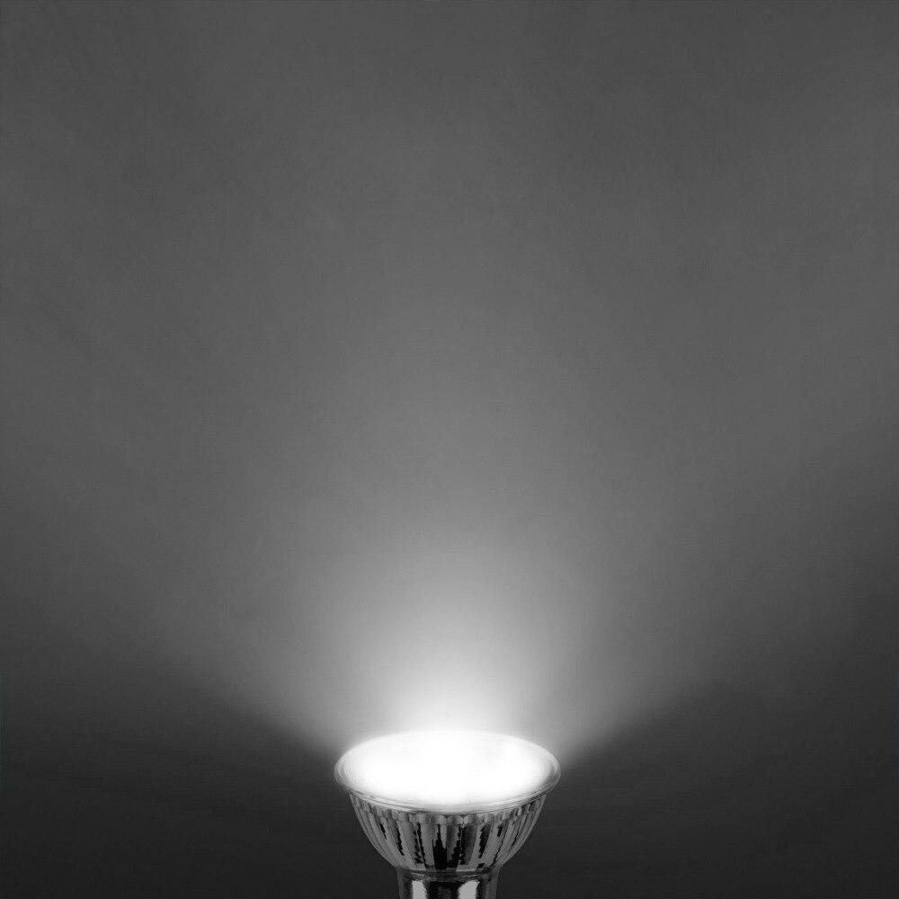 MARSWALLED GU10 E27 5W COB LED Spotlight AC85V 265V LED Bulb Lamp Aluminum Case Warm White Neutral White Cool White in LED Spotlights from Lights Lighting
