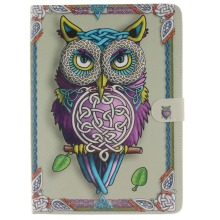 2016 Multifunction Card & ID Holders with tablet cover for Apple ipad pro 9.7″ Flip PU Leather Card holder owl pattern ID card