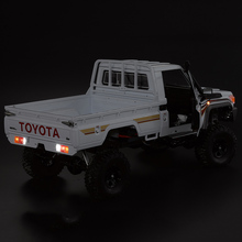 RC Auto LED Licht Lamp Set w/Control Box 14 LEDS Wit Rood Geel voor KB48601 1:10 Toyota Land cruiser Auto Onderdelen