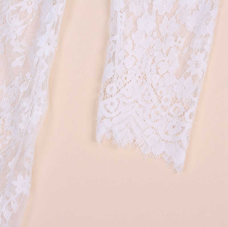 ce54934775 White Lace Sexy Summer Long Maxi Women Night Dress Plus Big Large Plus Size  Clothing Sleepwear Nightdress Lingerie Set